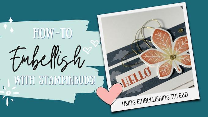 How-to Embellishing Thread