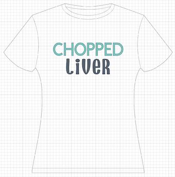 Cricut Design Space - Chopped Liver Design