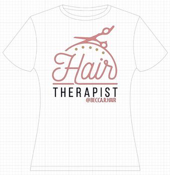 Cricut Design Space - Hair Therapist Design