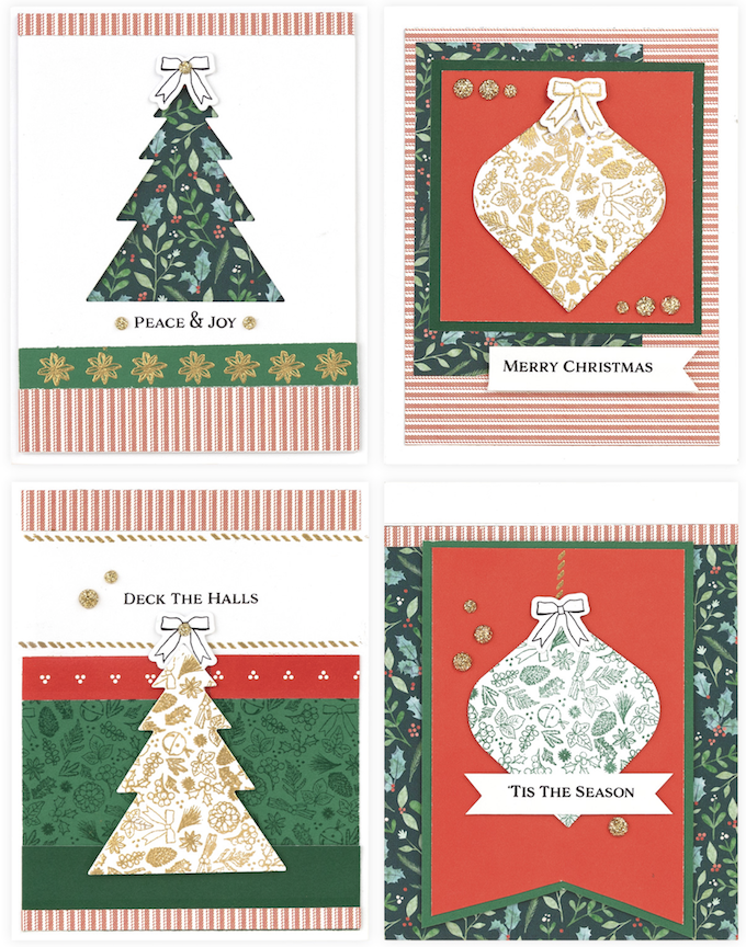 CTMH Holly & Ivy Cards